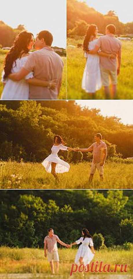 В лучах закатного солнца: Любовь и Сергей - WeddyWood