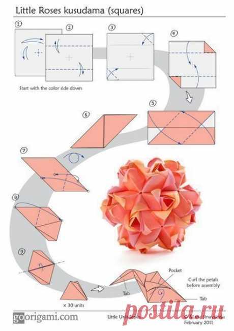 Оригами — Сделай сам, идеи для творчества - DIY Ideas