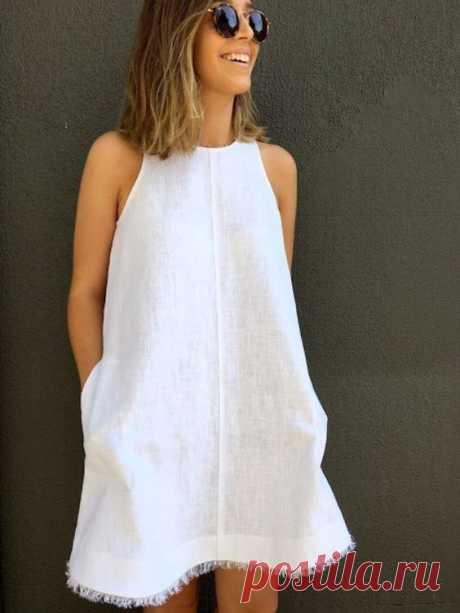 Выкройка А-сарафана Модная одежда и дизайн интерьера своими руками