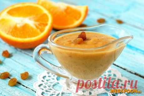 Соус из апельсинов с фото на Webspoon.ru