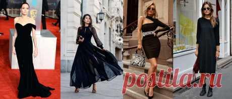 Как носить черное платье и не выглядеть заурядно Элегантное черное платье, так любимое женщинами, может стать примечательной частью гардероба.