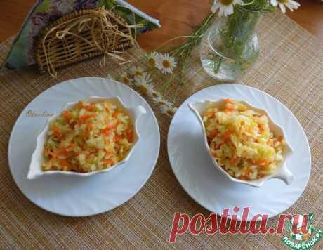 Капустный салат из советских времён – кулинарный рецепт