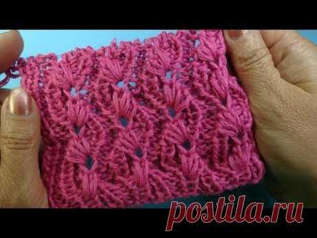 Лучшие узоры вязания Фантазийная резинка Узоры Вязание спицами 28