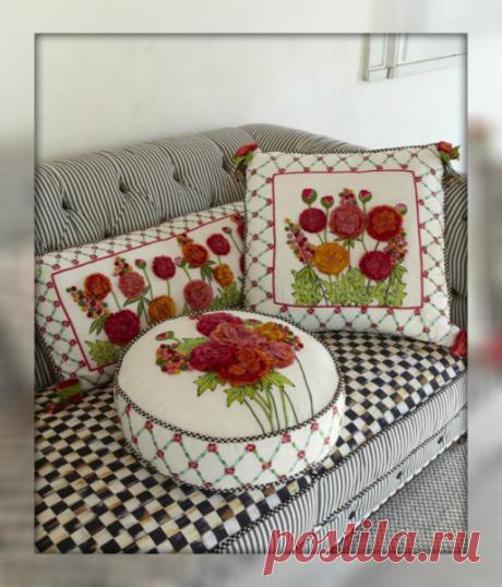 Советы опытных мастеров о том,как пошить декоративные подушки своими руками, чтобы сделать Ваш дом еще уютнее