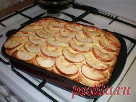 Творожная запеканка с яблоками | Поваренный сайт