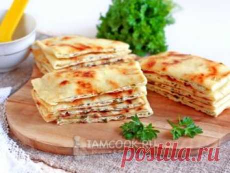 Чепалгаш — рецепт с фото Чепалгаш - нежные и мягкие лепешки с творогом и зеленью по-чеченски.
