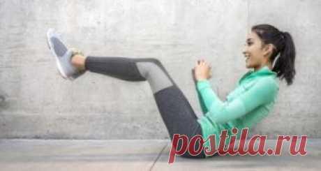 7 упражнений, чтобы убрать живот