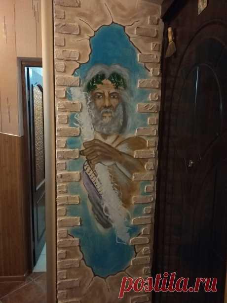 Встроенный шкаф в прихожей  , работа Рашкована Александра