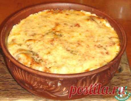 Макароны под соусом бешамель – кулинарный рецепт