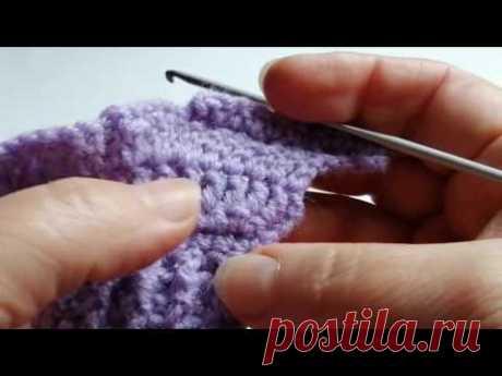Урок 5. Вязание крючком для начинающих. Прибавление петель. - YouTube