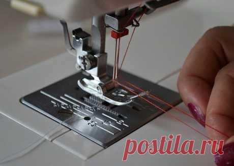 Двойная игла для швейной машины  Как шить, и как...