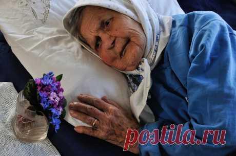 Баба Маня надумала помирать.
