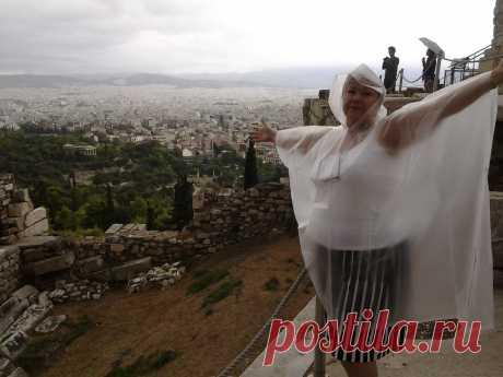 Ив Греции тоже дожди!