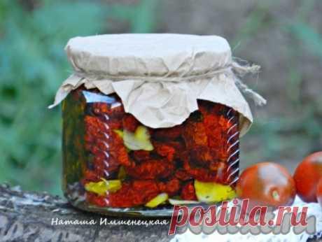 Как приготовить вяленые помидоры в электросушилке - рецепт с фото
