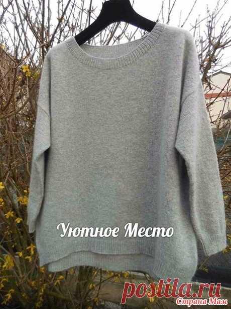 Пуловер от Элизабетты Церон. Описание вязания - Вязание - Страна Мам