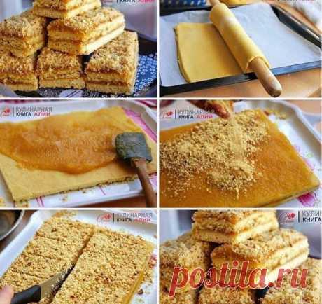 Пирожное песочное по 22 коп  Ингредиенты: -мука - 560 г -слив. масло - 310 г (размягченное) -сахар - 207 г (мелкий) -яйца - 1 целое+желток (73 г) -соль - 2 г -сода - 1 г (погашенная уксусом) -ванильный сахар - 1 пакетик -повидло яблочное - для прослойки  Приготовление:  Первым делом, если вы хотите чтобы пирожное было именно таким вкусом, как в детстве, нужно сварить яблочное повидло (оно быстро варится). Именно яблочным повидлом промазывались пирожные и рулеты. Холодн...