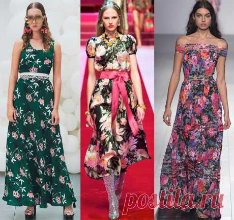 Платья весна-лето 2018 – модные тенденции и новинки