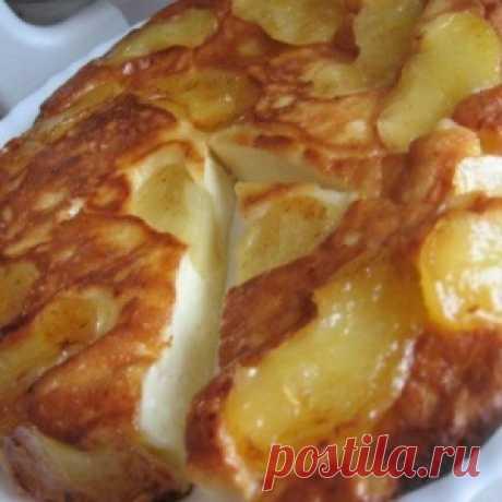 Яблочная запеканка с ароматом корицы - МирТесен