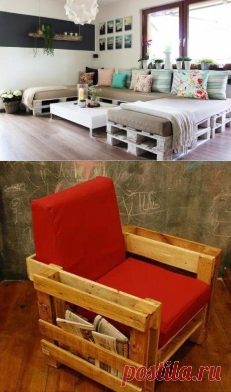 Оригинальные идеи создания мебели своими руками