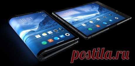 Китайцы представили гибкий смартфон!
