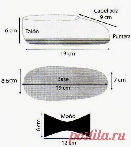 Как связать тапочки крючком