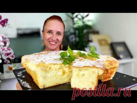 """БЕЗ МУКИ Королевская творожная запеканка """"Крутая бабка"""" лучше сырников Люда Изи Кук Soft Cheesecake"""