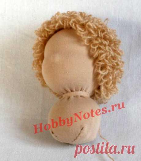 Кудрявый паричёк для куклы