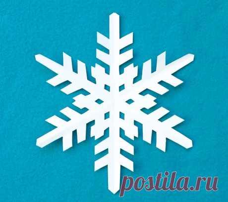 Самые красивые снежинки из бумаги: 40 шаблонов разной сложности — Мастер-классы на BurdaStyle.ru