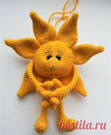 Вязаные солнышки для отличного настроения | Идеи рукоделия | Яндекс Дзен