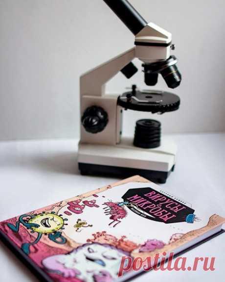 💬 Сегодня в рубрике #миф_читатель Екатерина @wi_t_сh рассказывает о научном комиксе «Вирусы и микробы»: Ну вот как может нежная девочка 4-х лет с увлечением слушать про желтую лихорадку и бубонную чуму? Я все больше верю, что дочка вырастет и станет врачом! Или микробиологом. Или стоматологом.) Ну, а пока дочь самоопределяется, читаю ей «Вирусы и микробы». Это содержательный научный комикс. Расскажет о способах распространения болезней, от эпидемиях, об иммунитете... А главное, о пользе…