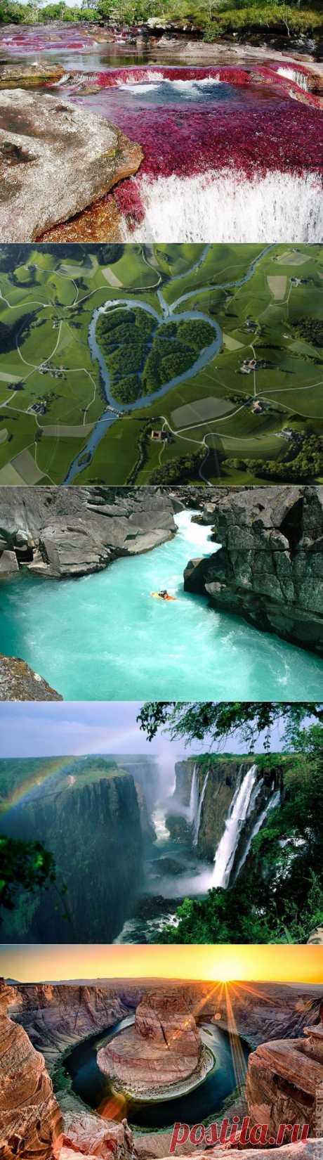 (+1) тема - Самые красивые реки мира   ТУРИЗМ И ОТДЫХ