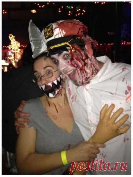 20+ самых адских идей костюмов на Хэллоуин