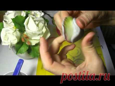 Molda concave. A master class from Rita Part 1. Molds for flowers. MK by Rita Part 1.