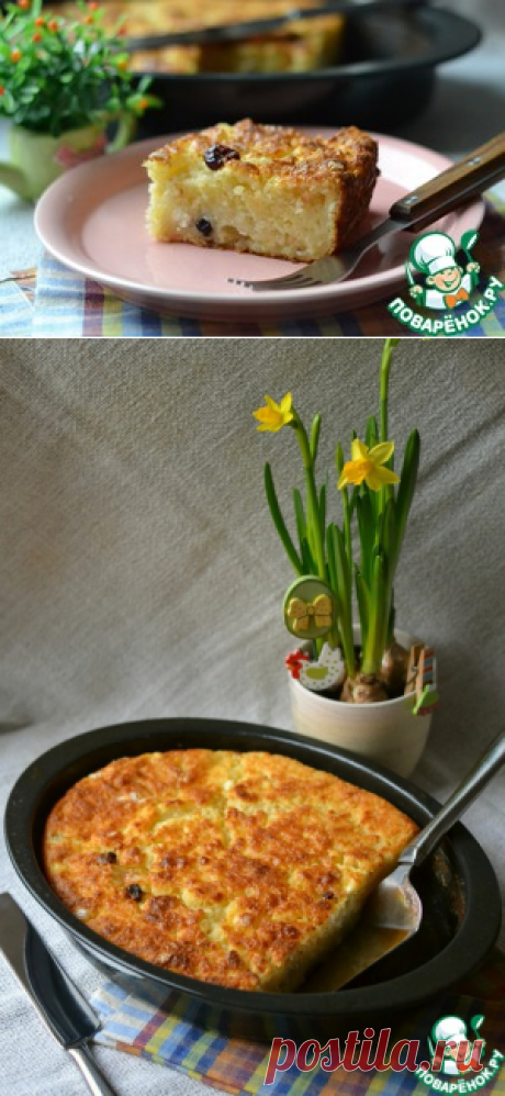 """Cottage cheese """"Чистые ручки&quot pie; - culinary recipe"""