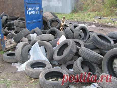 Как правильно утилизировать старые шины? | Автомеханик | Яндекс Дзен