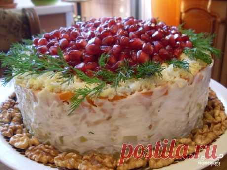Салат Красная шапочка - рецепт с фото на Повар.ру