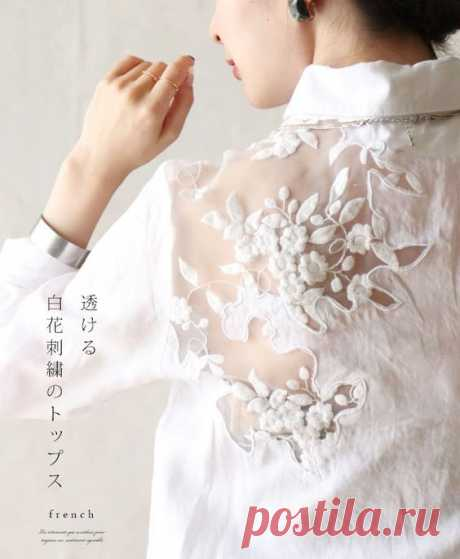 Блузки с кружевом (подборка) Модная одежда и дизайн интерьера своими руками