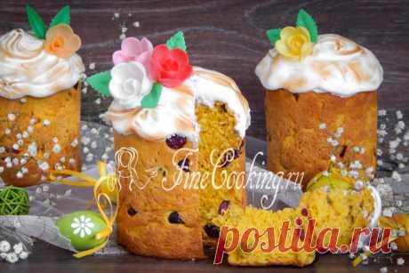Кулич пасхальный тыквенный Новый рецепт пасхального кулича с традиционными пошаговыми фото и подробным описанием.