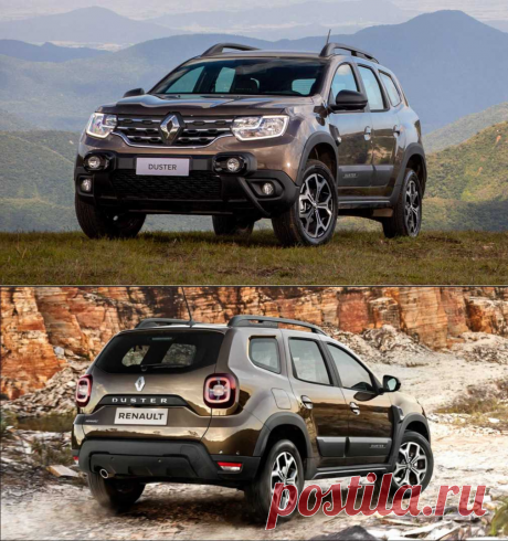 Renault показала обновленный кроссовер Renault Duster 2021 для России