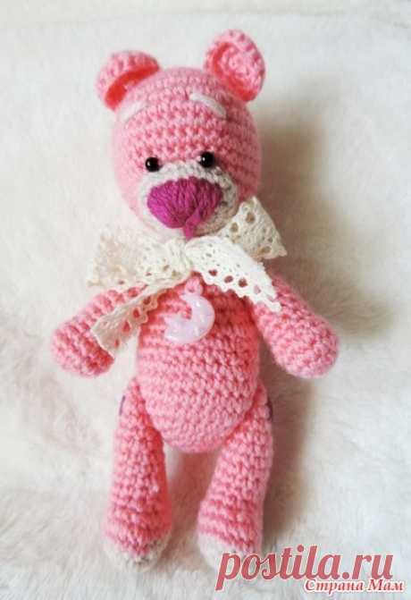 Онлайн по вязанию хорошенького медвежонка. Поехали! Дополнила ссылкой на фотоальбом с мишками:) - Амигуруми - Страна Мам