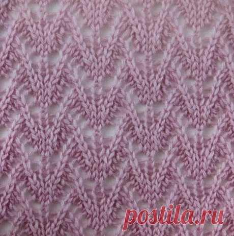 Ажурные узоры спицами #knitting #вязание_спицами #узоры_спицами