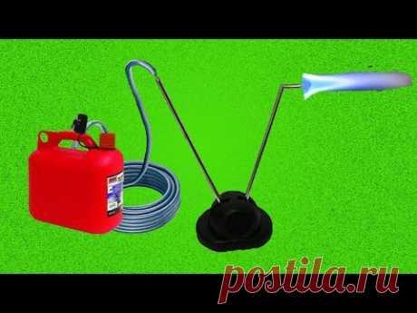 Como hacer la boquilla de la antena telescópica \/ How to make a burner from a telescopic antenna