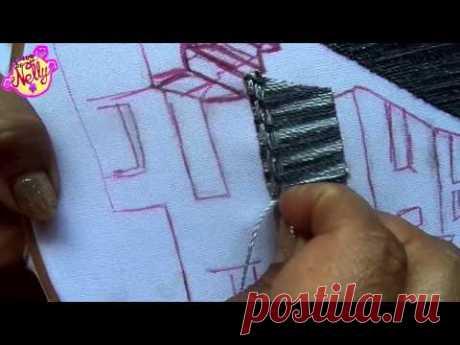PAISAJE BORDADO ( BARDA # 2 )