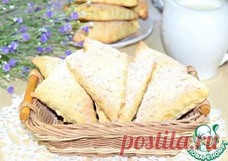 """Коржики с сыром """"Утренние"""" - кулинарный рецепт"""