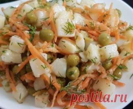 Подсели на этот салат из моркови и картошки, который может заменить полноценный ужин | Дверь на кухню | Яндекс Дзен