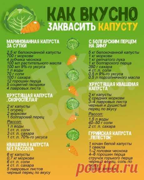 Кулинария>Самая вкусная капуста!