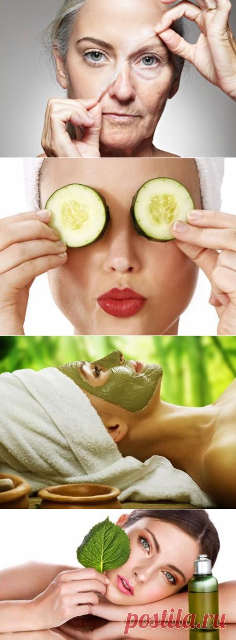 Лучшие домашние маски, которые разглаживают кожу век / Все для женщины