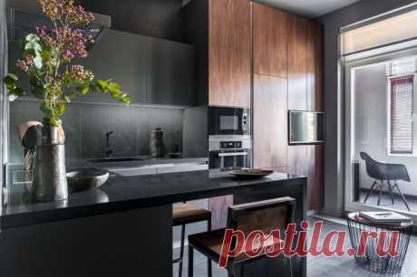 Когда можно встроить всё — кухня 15 кв.м с фото интересных идей и решений