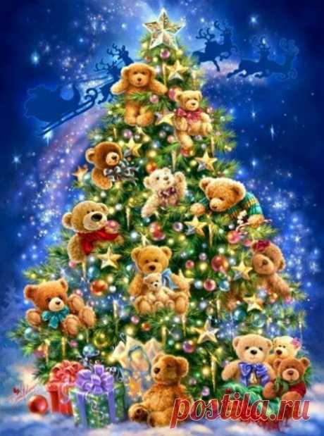 Мороз, метель, снежинок круговерть И Новый Год все ближе, ближе, ближе... Желания сбываются...поверь, И чудеса нам, снова, в спину дышат...!))