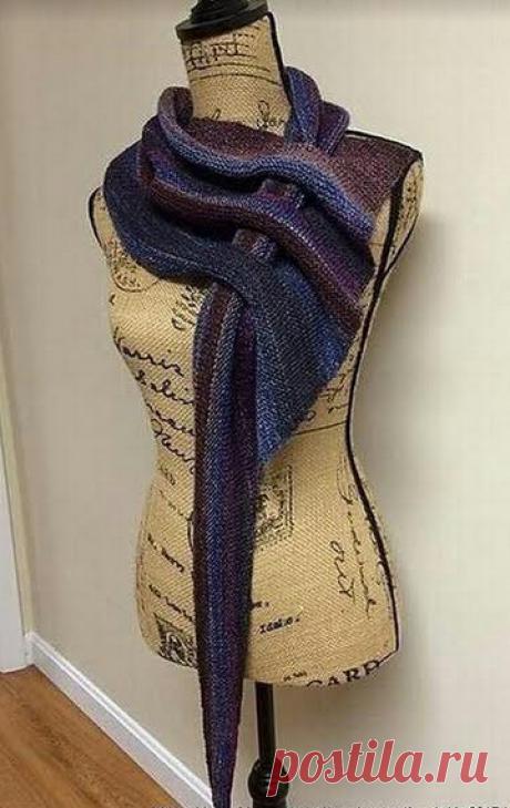 Шарф-платок (Diy) Модная одежда и дизайн интерьера своими руками
